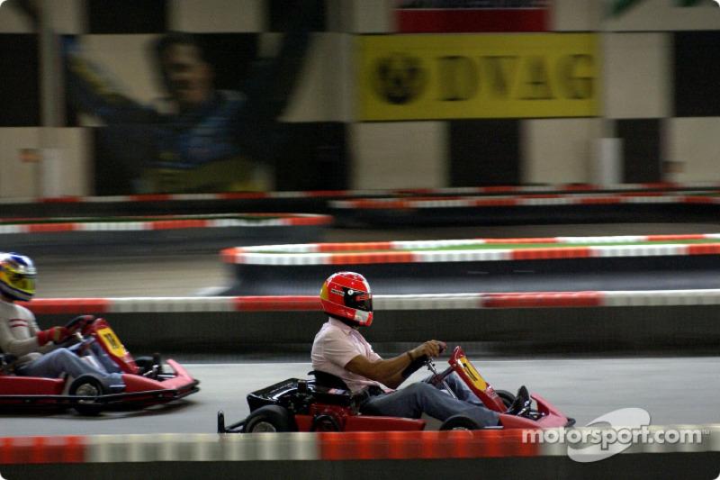 Karting en la pista de Michael Schumacher en Kerpen: Michael Schumacher