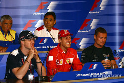 Thursday press conference: Ralf and Michael Schumacher, and David Coulthard
