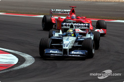 Ralf Schumacher and brother Michael