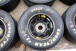 Bill Elliott's Good Year tires