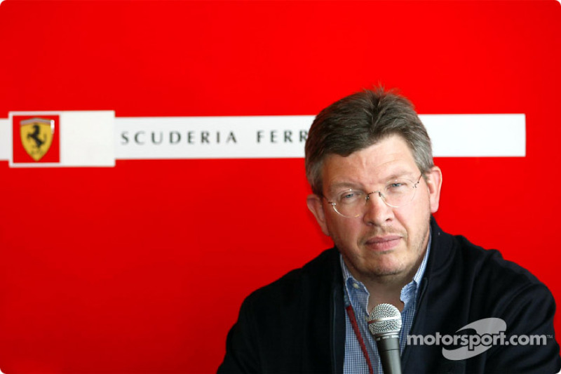 Conferencia de prensa de Ferrari: Ross Brawn