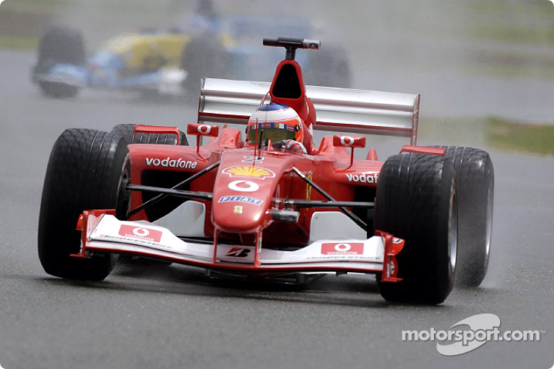 Rubens Barrichello, Ferrari F2002