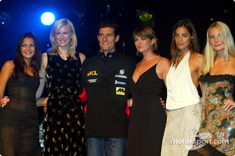 Festival por el Gran Premio Británicol: un muy feliz Mark Webber
