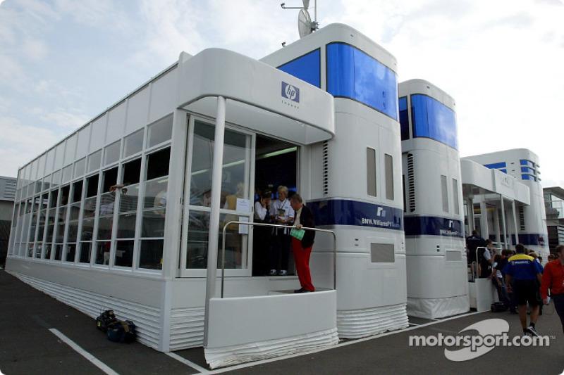 Area de hospitality de Williams-BMW