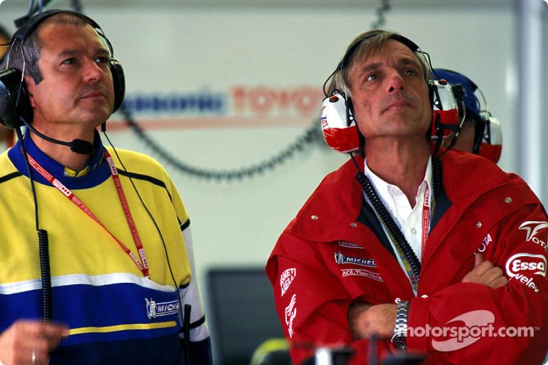 Team Toyota's Gustav Brunner
