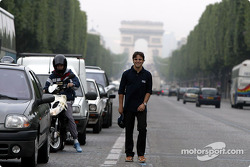 Visit of Paris with Felipe Massa