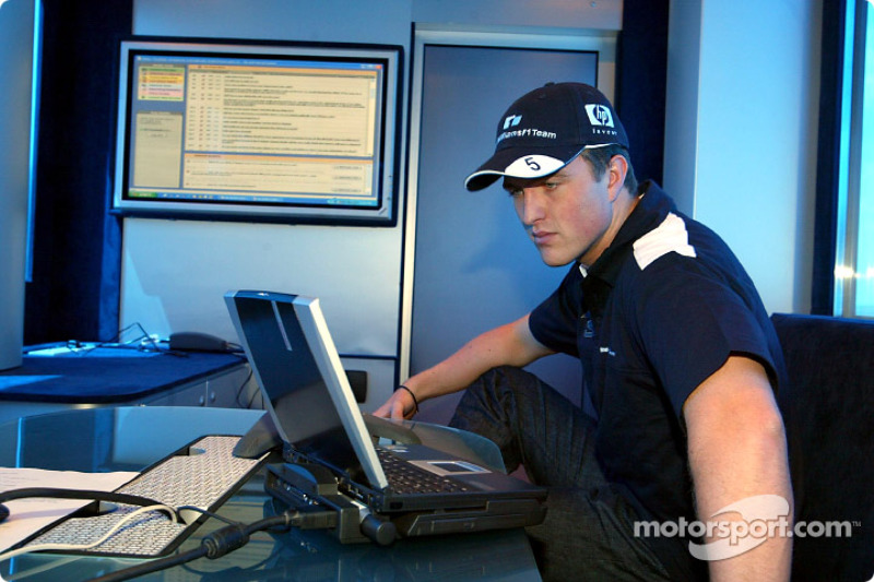 Web chat con los aficionados del Williams-BMW: Ralf Schumacher