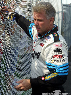 Ricky Rudd in Autograph Alley
