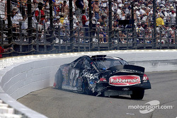 Kurt Busch testing the SAFER wall