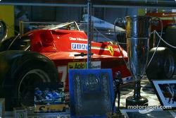 Bezoek aan Gilles Villeneuve Museum: de beroemde #27 Ferrari 126C