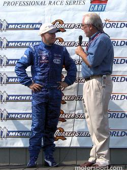 2002 Barber Pro Series champion A.J. Allmendinger