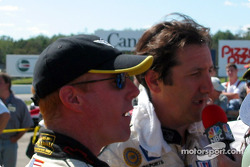 GTS winners Johnny O'Connell and Ron Fellows