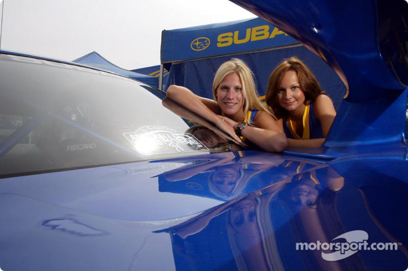Chicas Subaru World Rally Team