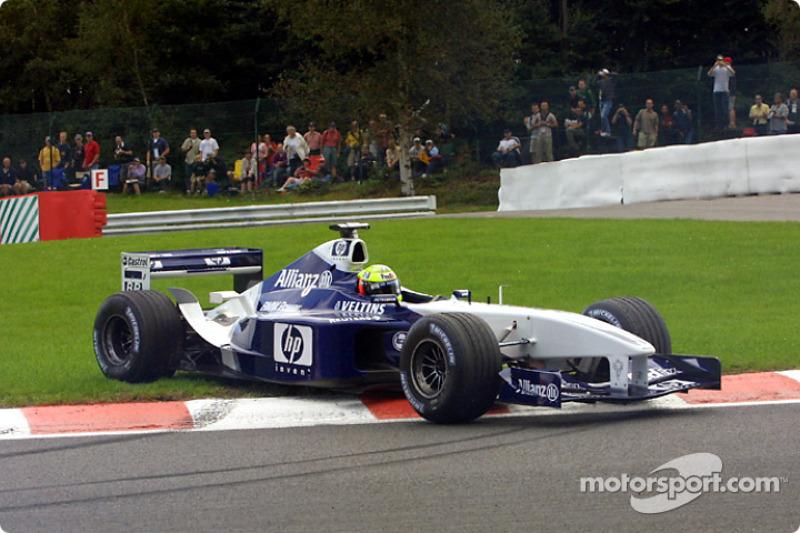 19: Ralf Schumacher: 118 grandes premios (el 65,56% de los disputados)