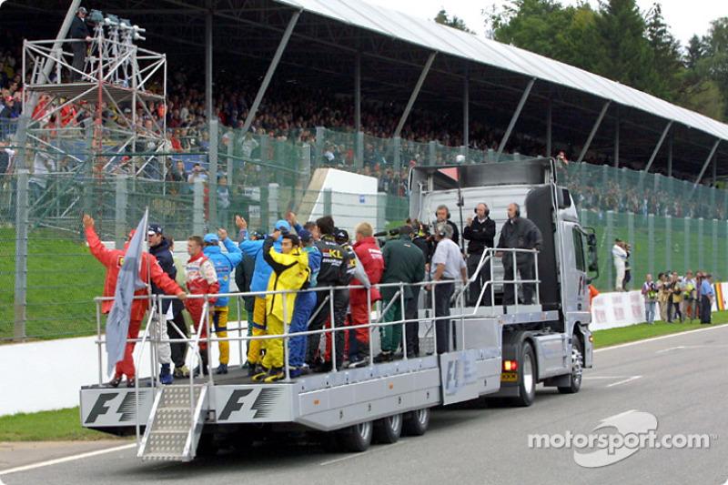 Drivers' parade