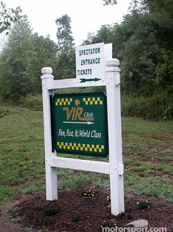 Entrance to VIR