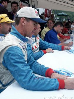 Randy Pobst signs autographs