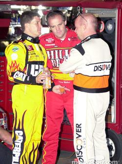 Ward Burton, Kenny Wallace and Todd Bodine