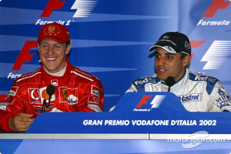 Conferencia de prensa: Michael Schumacher y Juan Pablo Montoya