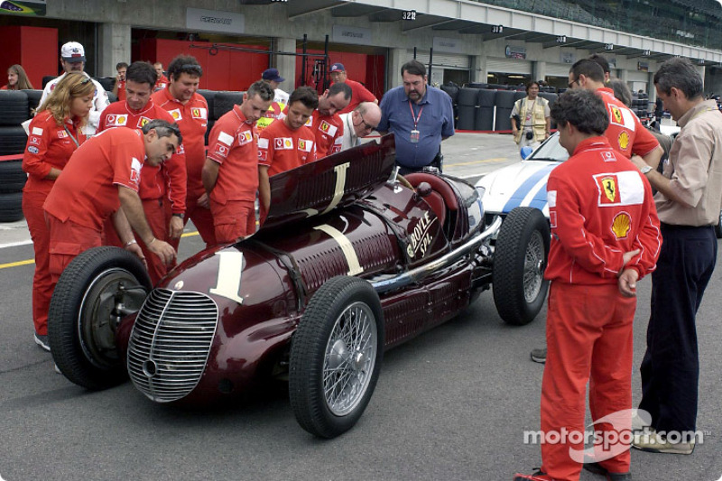 Maserati 8CTF and the Ferrari Team