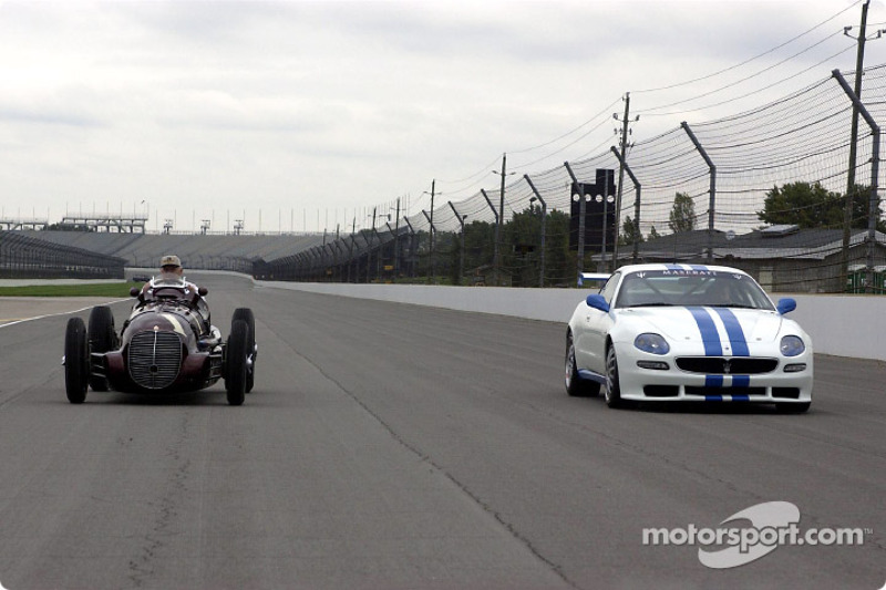 The Maserati 8CTF and Trofeo