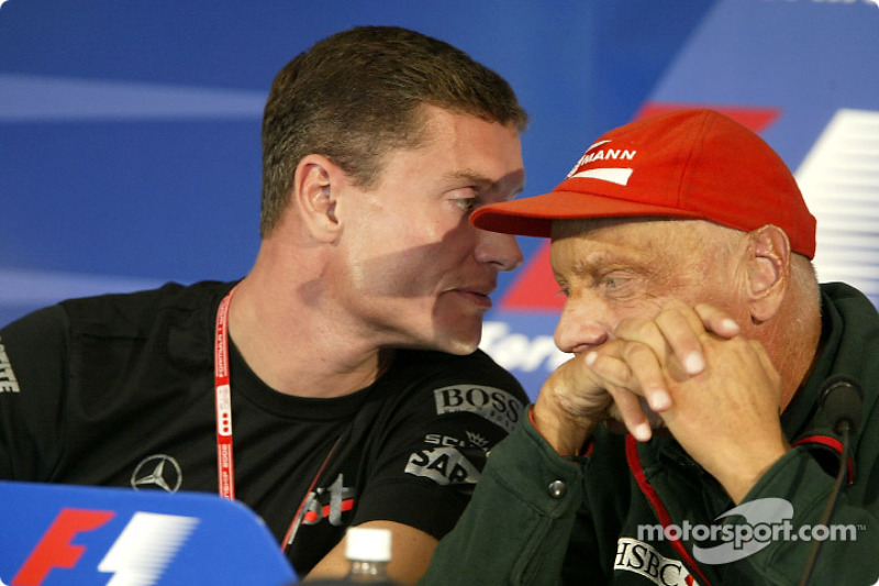 Conferencia de prensa FIA del jueves: David Coulthard y Niki Lauda