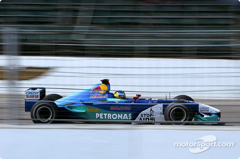 2002. Sauber C21 Petronas