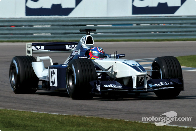 2002: Williams-BMW FW23