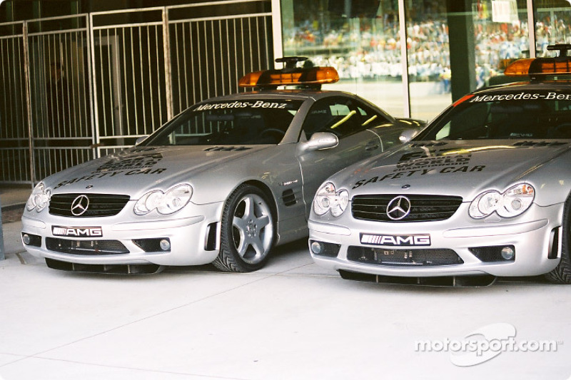 Safety cars Mercedes-Benz