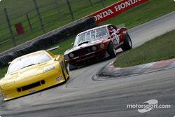 GT1 class qualifying: Richard Grant and David Fershtand