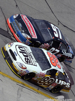 Dale Jarrett and Kurt Busch