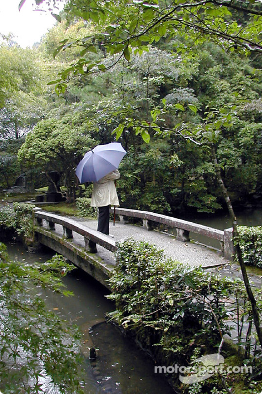 Peaceful moment at Honen-in Temple, Kyoto