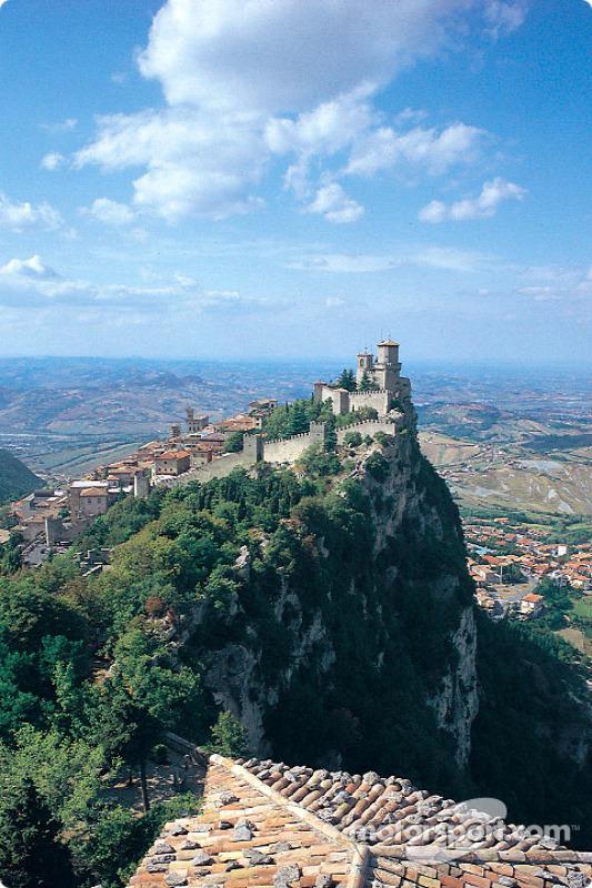 Postcard from the Republic of San Marino