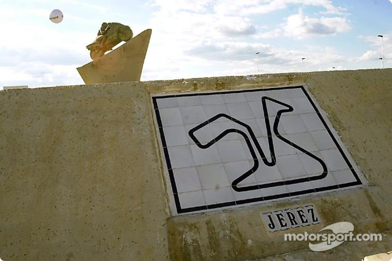 Monumento a las pistas de carreras famosas