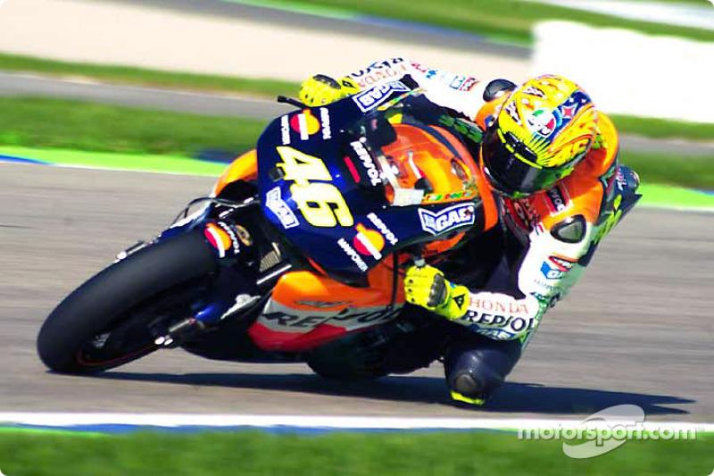 2002 - Valentino Rossi, Repsol Honda Team