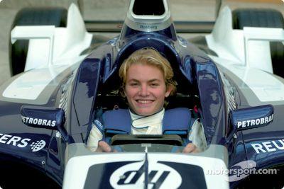 Nico Rosberg visita WilliamsF1 em Grove