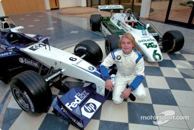 Nico Rosberg visita WilliamsF1 en Grove