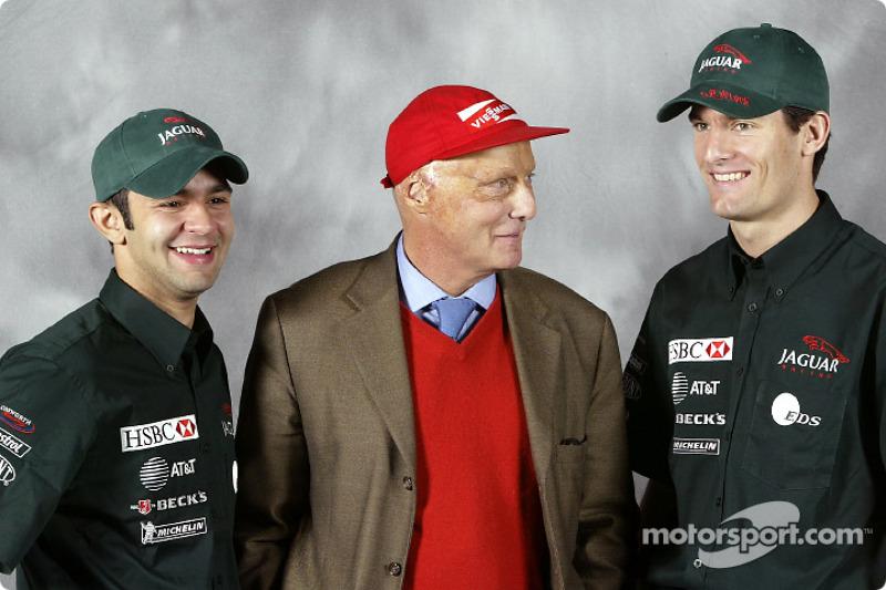 Jaguar Racing, 2003 год
