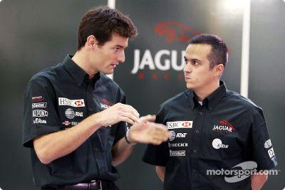 Presentación de pilotos de Jaguar Racing 2003