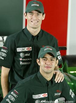 Mark Webber y Antonio Pizzonia
