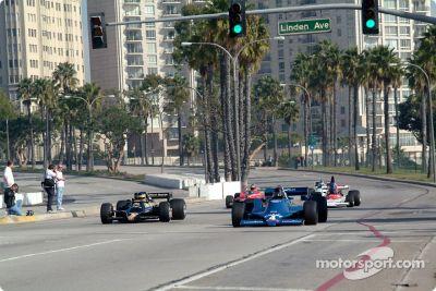 Anuncio del histórico GP de Long Beach 2003