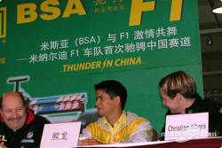 Conferencia de prensa con Alex Yoong y Christijan Albers