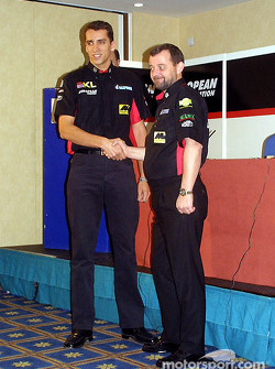 Justin Wilson and Paul Stoddart