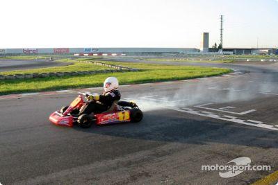 Donatella Di Giorgio testing, 2002
