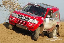 Mitsubishi Pajero Evolution-Montero Evolution, Team ATS Mitsubishi Ralliart: Jean-Pierre Fontenay and Gilles Picard