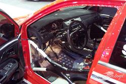 WRC Lancer Evo interior