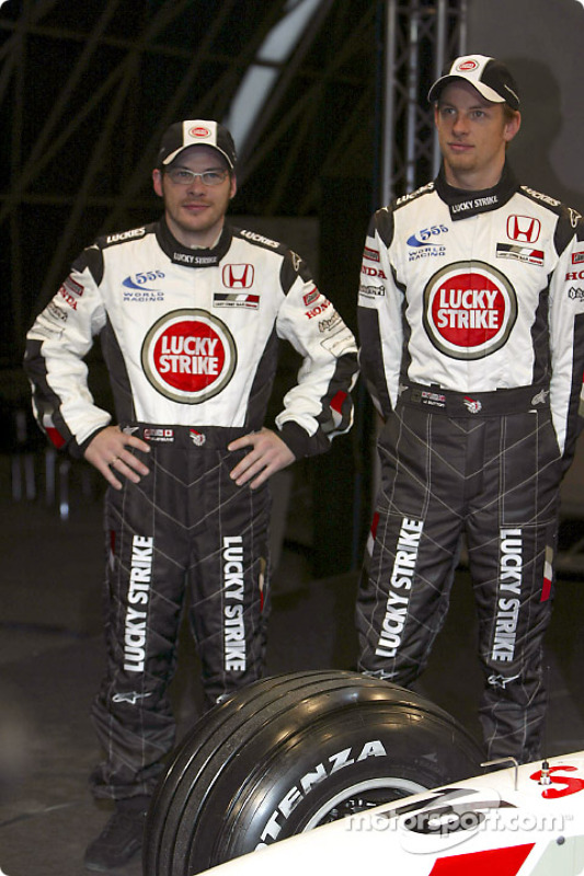 Jacques Villeneuve and Jenson Button