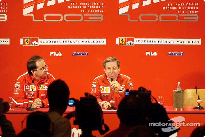 Press conference: Jean Todt