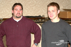 Jason Jarrett (ARCA) and Ed Carpenter (IRL Pro Infiniti)