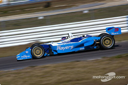 Canadian Champ car driver Paul Tracy conducted his first test with his new team, Team Player's